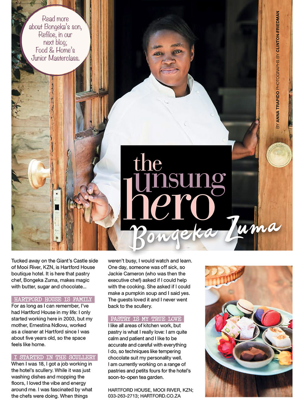 Chef Bongeka Zuma