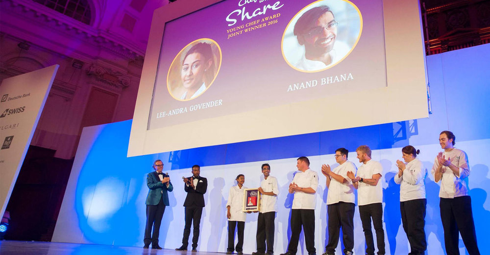 Chefs Who Share - Young Chef 2016