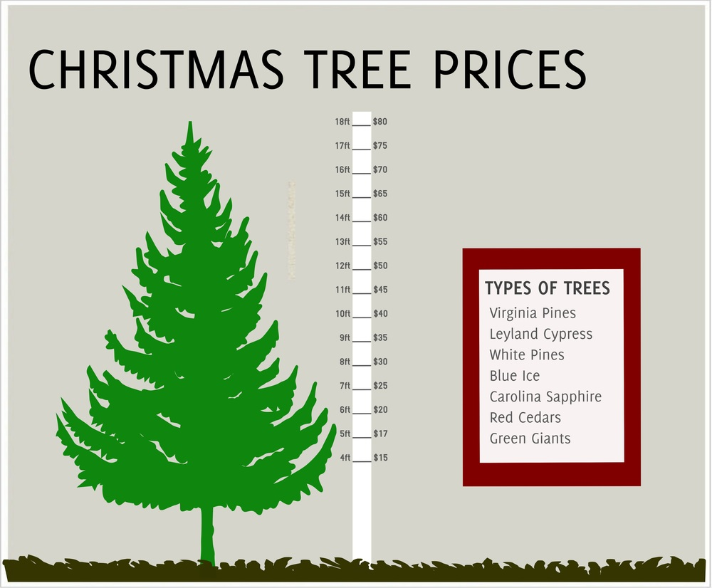 Pricing — Rex Christmas Tree Farm