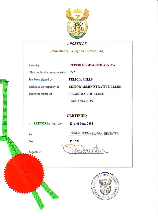 Apostille And Legalisation Of Documents Unabridged Certificates