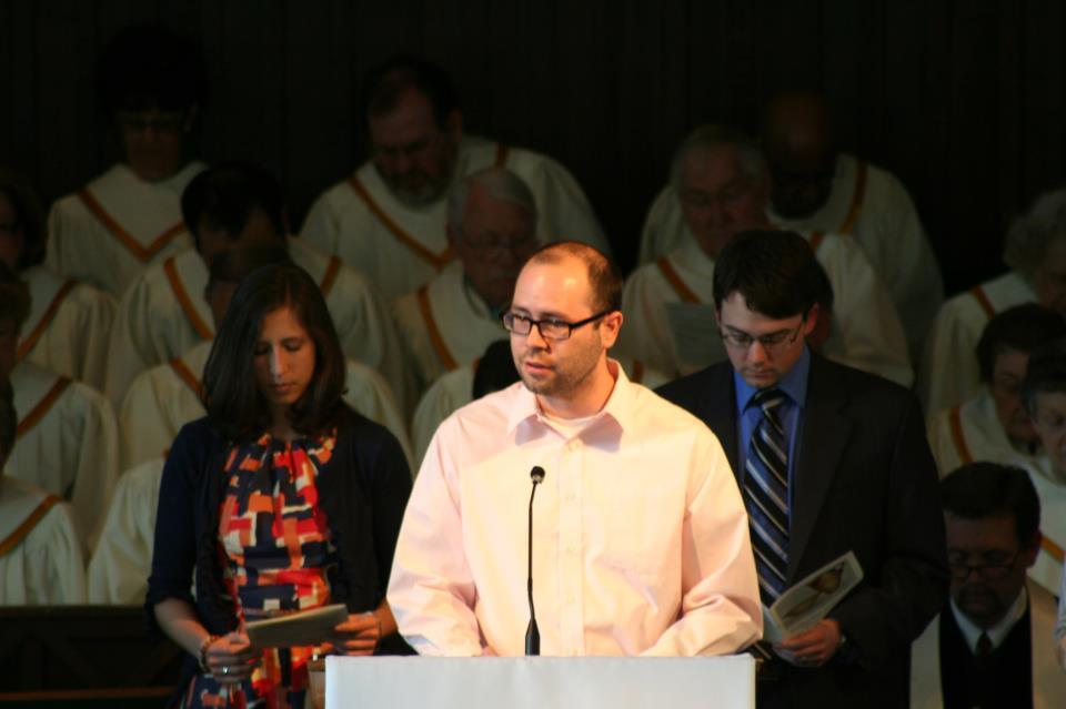 Andrew Noe at Buechel Park Baptist Church