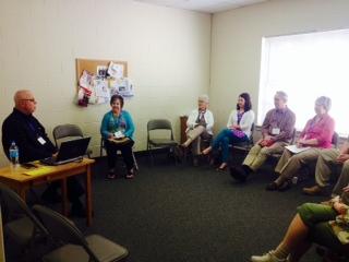 Bo Prosser leads KBF Spring Gathering Workshop on laity.