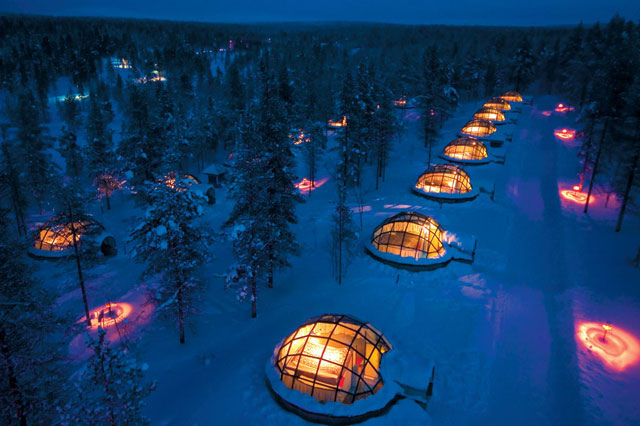 Kakslautten Igloo Village—finland