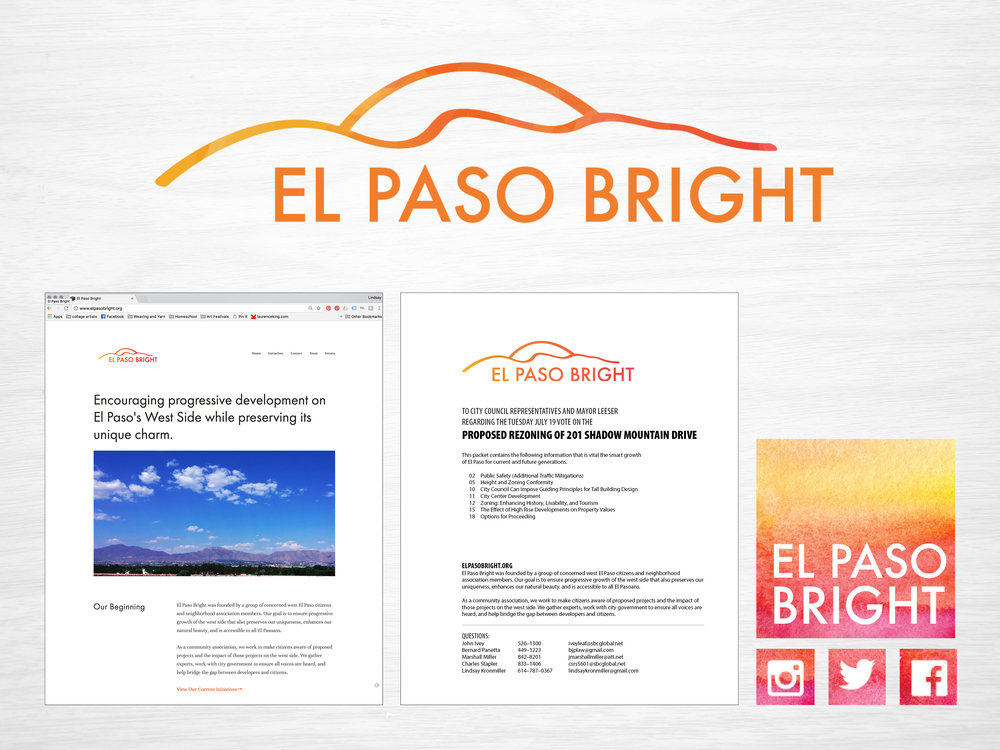 El Paso Bright Branding Package