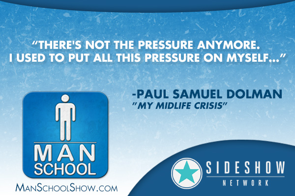 """There's not the pressure anymore. I used to put all this pressure on myself..."" -Paul Samuel Dolman"