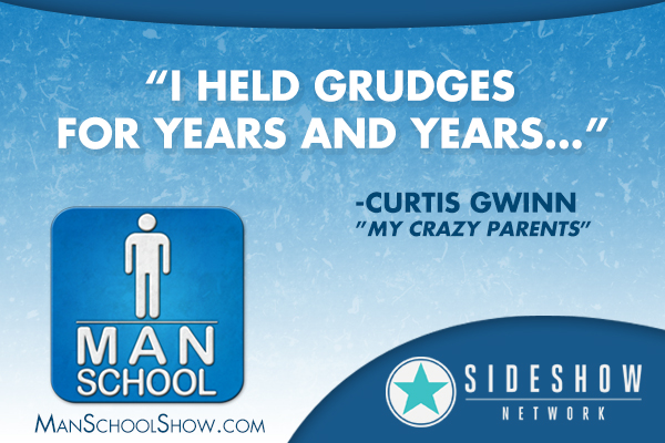 """I held grudges for years and years..."" - Curtis Gwinn"