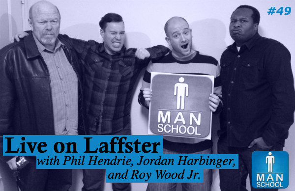 Class #49: Live on Laffster with Phil Hendrie, Jordan Harbinger, Caleb Bacon, and Roy Wood Jr.