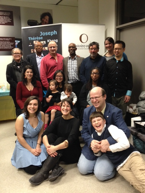 Steven High (bottom right) and Montreal Life Stories Project Participants