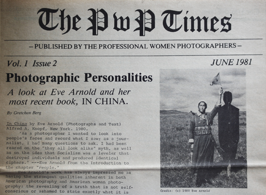 Documents of Professional Women Photographers