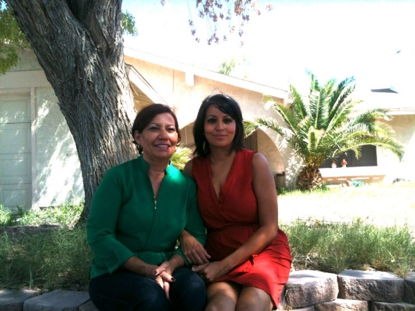 Fanny and her mom, Maria Polanco.