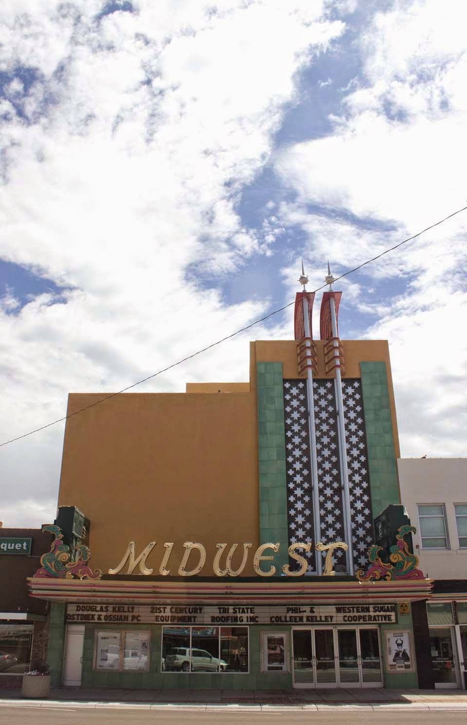 Midwest theater in Scottsbluff, Nebraska