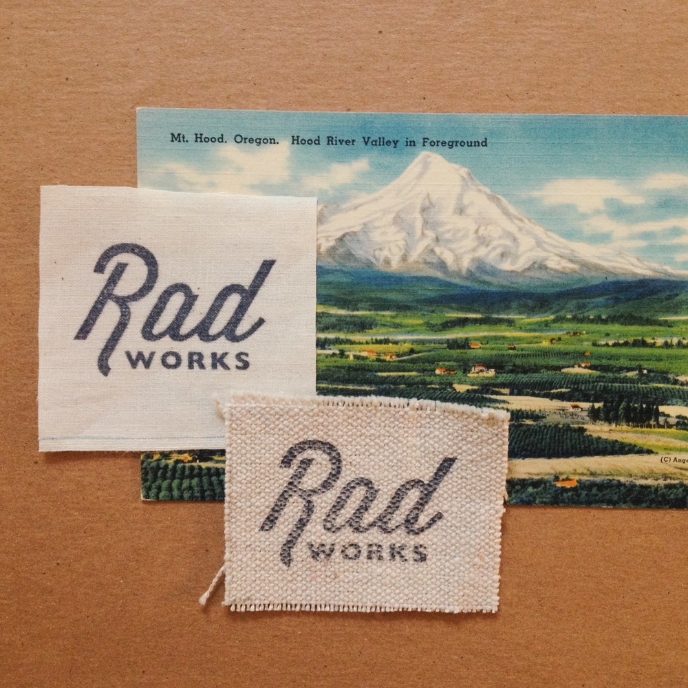 Rad Works stamp / Eva Moon Press
