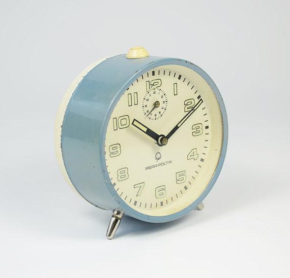 1970s MERA POLTIK Alarm Clock
