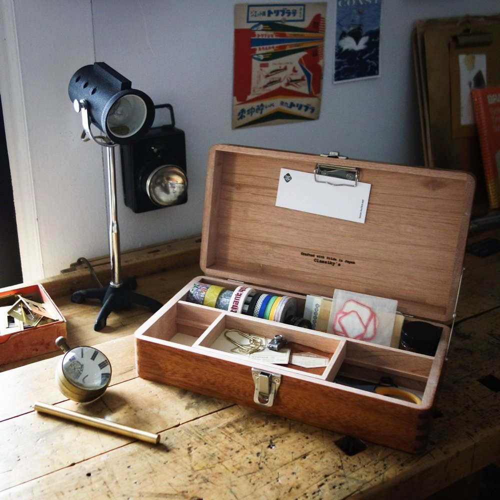 Baum-kuchen - Classiky Desk Tool Box, $98.00.