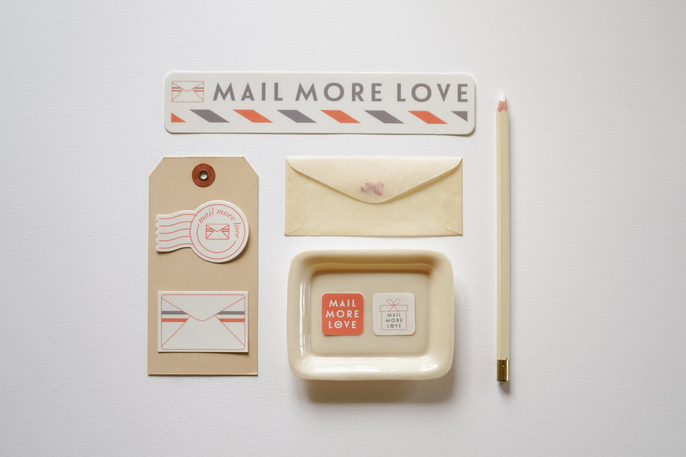Mail More Love by Eva Moon Press