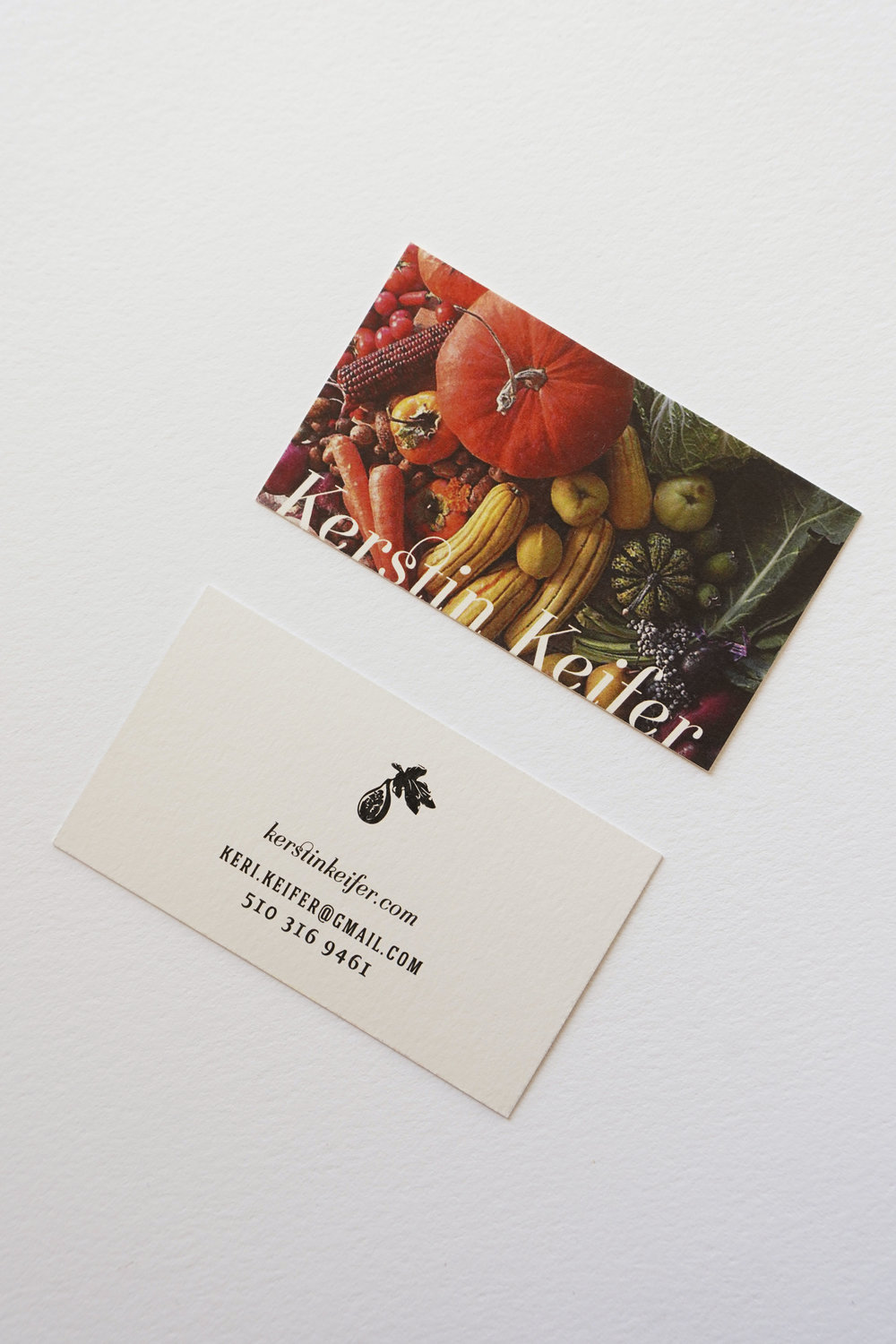 Eva Moon Press updated Keri's business card in 2018 to feature Keri's beautiful photography.