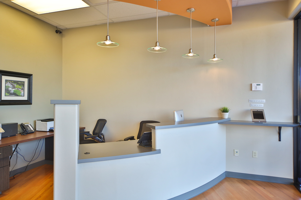 Reception Just Smile Orthodontics