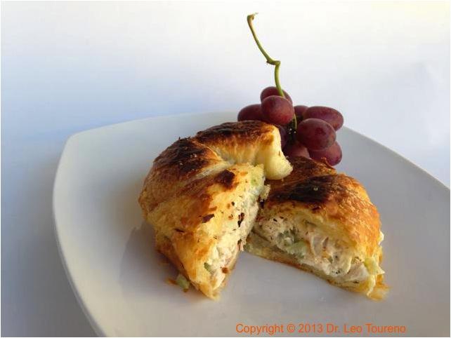 Chicken Rotisserie Croissant