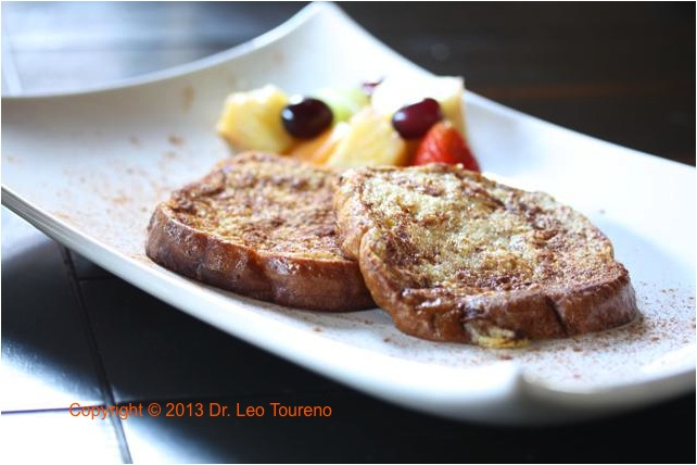 Easy to eat Homemade French Toast