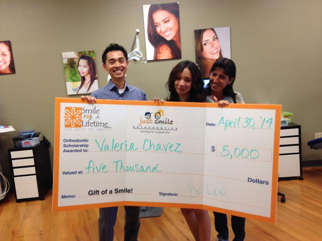 Congrats Valeria, our first S4L Scholar