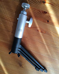 Tripod compact for travel