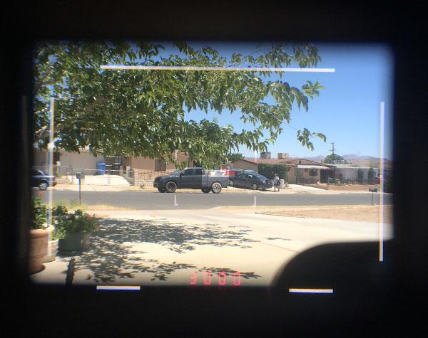 Leica M viewfinder