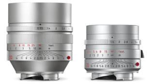 Leica Noctilux -M ASPH Silver, Leica Summilux -M 35mm 1.4 ASPH