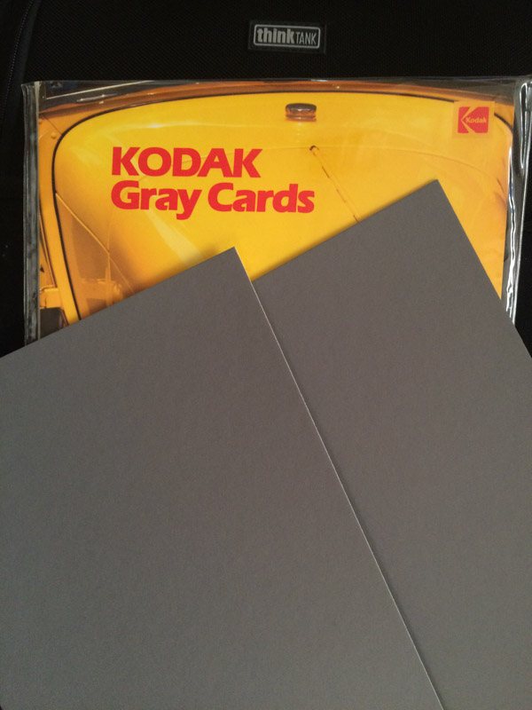 Kodak Gray Card