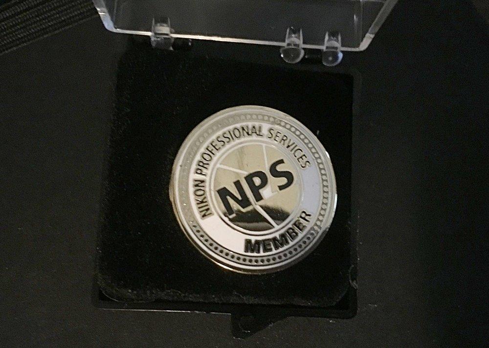 Nikon 100 Anniversary Pin