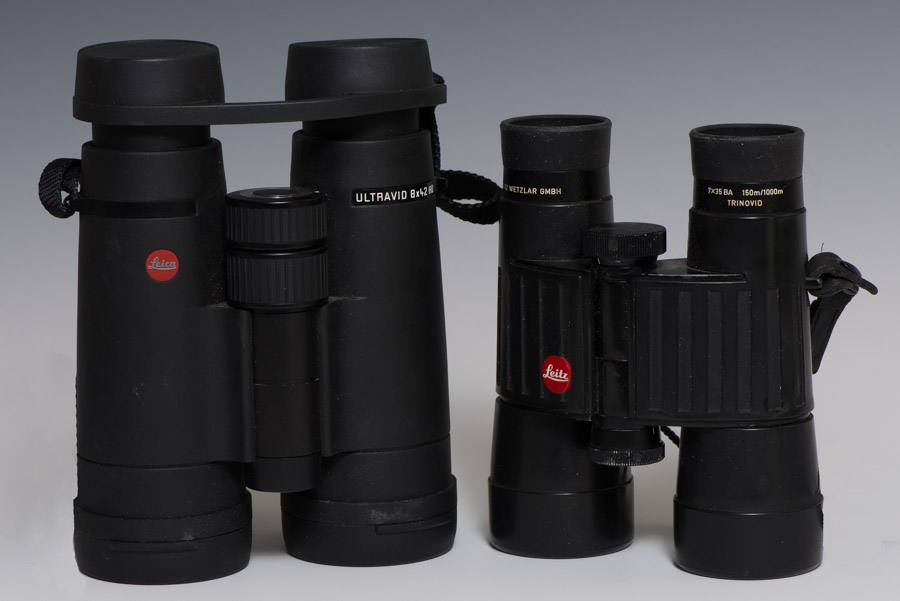 Leica 8 x 42 Ultravid and 7 x 35 Trinovid