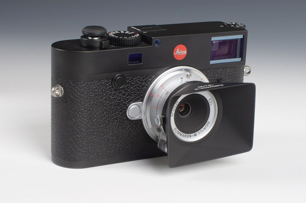 Leica M10 with 28mm 5.6 Summaron