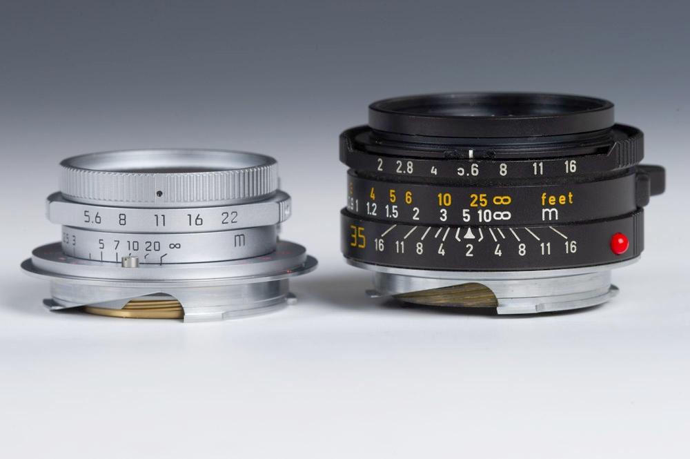 Leica 28mm Summaron vs Leica 35mm Summicron