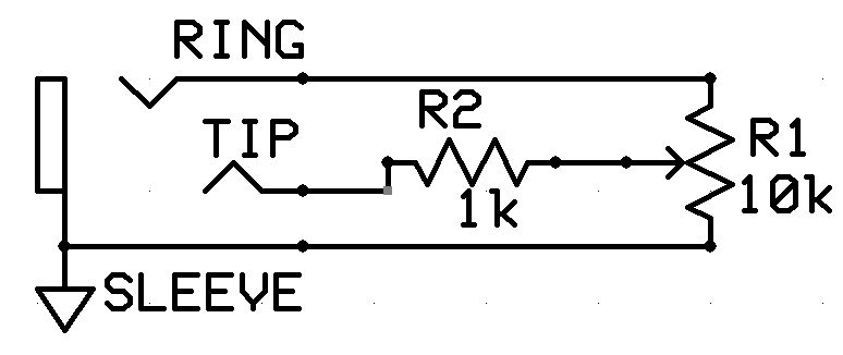 Photo 3 - The most common expression pedal schematic