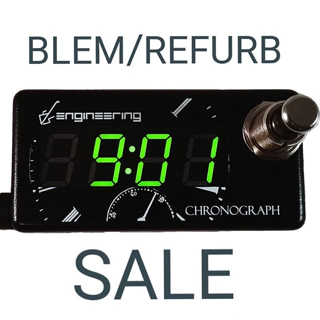 While supplies last!  The Chronograph is temporarily out of stock, but you can still score a great deal on one of these!