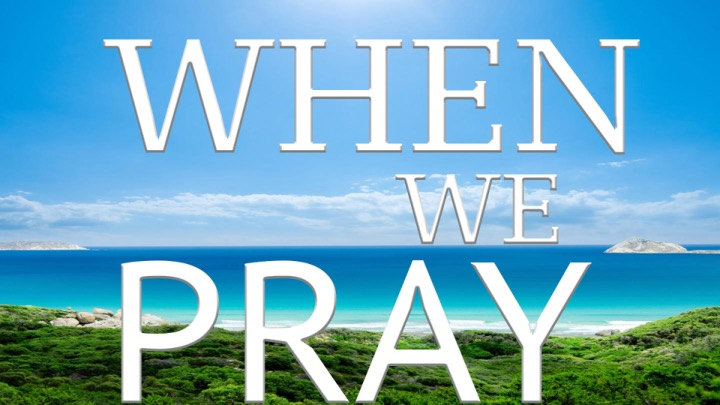 "Pastor Monty is currently teaching a new sermon series entitled ""When We Pray."" In it, he is teaching the basics of a prayer life for the believer."