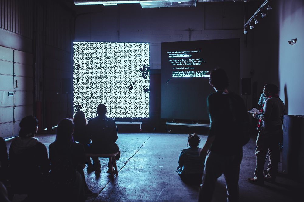 School for Poetic Computation - Photo by Julian Basjel