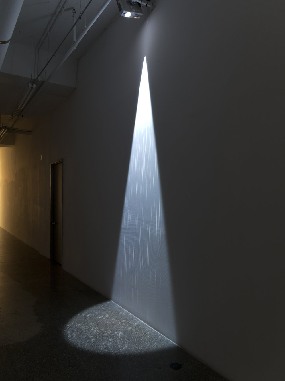 "James Clar - ""Rain under Lampost"" - Photo : John Behrens"