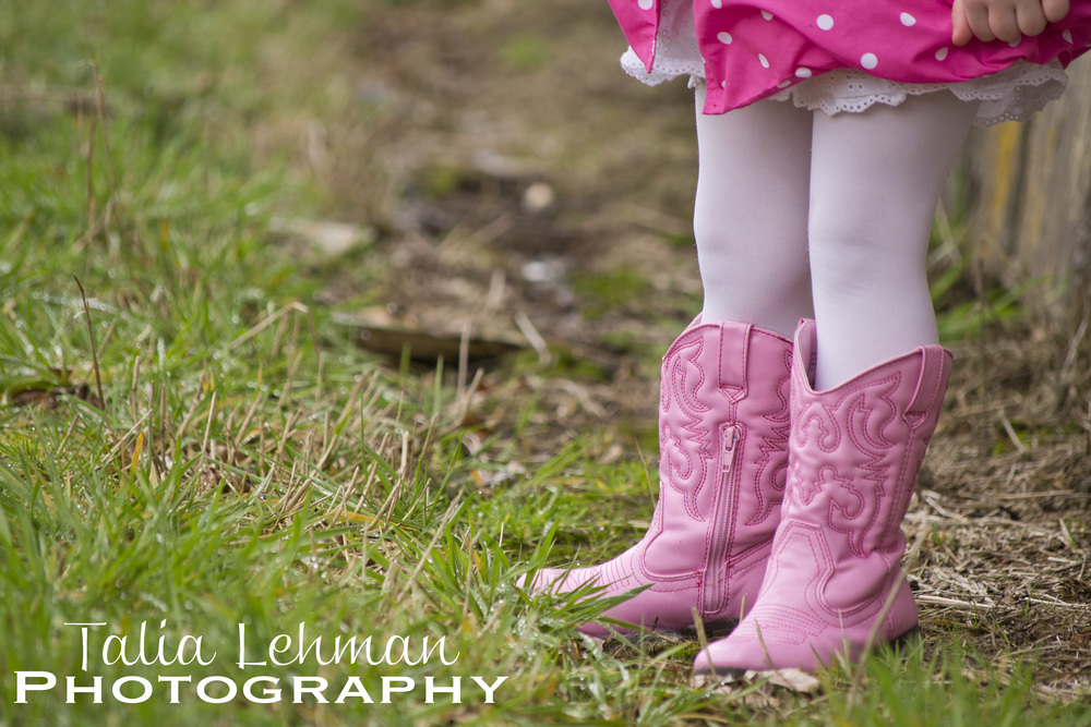 ...And every girl needs a pair of cowgirl boots!