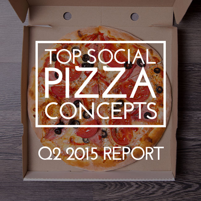 Top Social Pizza Concepts of Q2 2015
