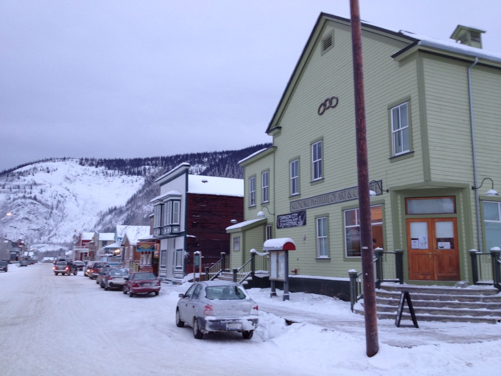 Dawson is a living museum of the gold rush era.