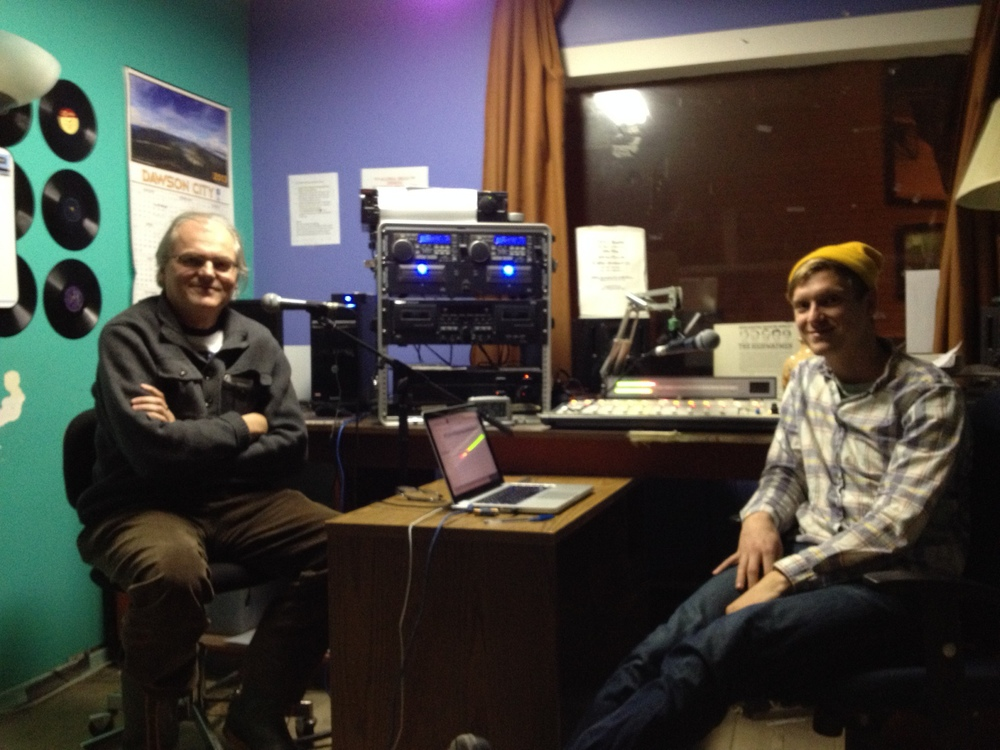 As part of an evening-long broadcast on CFYT, I was very pleased to interview author and kindred spirit, James Fitzgerald. He's the author of Old Boys and What Disturbs Our Blood, which won the Writer's Trust award for Non-fiction. Each of the conversations that we had during the month that I was in Dawson were extraordinary, and this one touched a variety of topics that we'd talked about together.