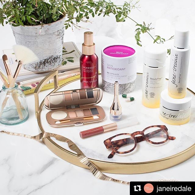 We love seeing our product photography make its way out in the world! We had a blast shoot with the @janeiredale team!! #Repost @janeiredale ・・・ We want to see what's on your spring shelfie. Show us yours by using #GoodBeautyStories and tagging us! ✨