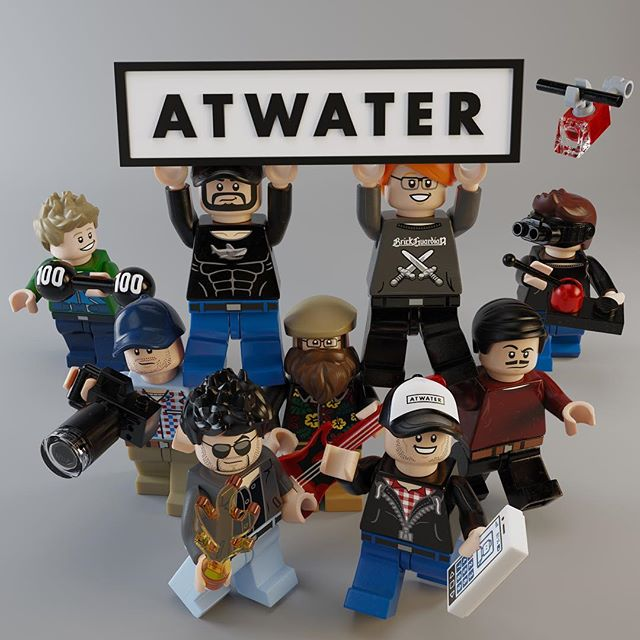 We're super excited for the release of @thelegomovie We we're fortunate enough to partner with @warnerbrosentertainment and @lego to produce a series of #animated #celebrity #minifigures to help promote the new #thelegomovie2 We had so much fun creating these we decided to brick ourselves. Stay tuned for more #everythingisawesome #LEGO #animation #design #3D #redshift #maya