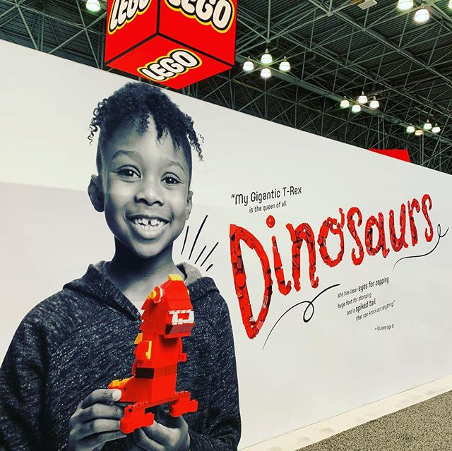Excited to share the images we created for @lego and their @toyfair_ny trade show booth. #lego #commercialphotography