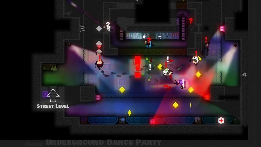 Dancing the night away . . . with a machine gun!
