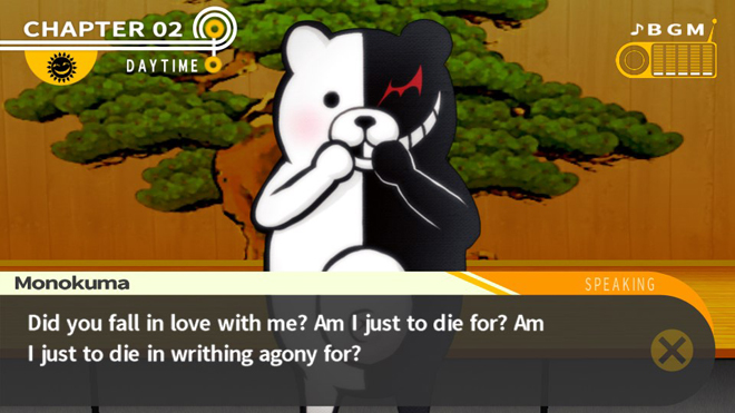 No really Monokuma is a real Dick.jpg