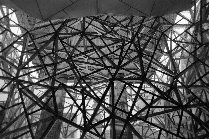 Inside part of Fed Square. With the right light, this camera can produce surprisingly good results.