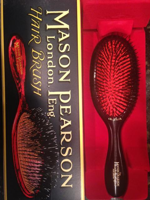 E's new Mason Pearson Brush