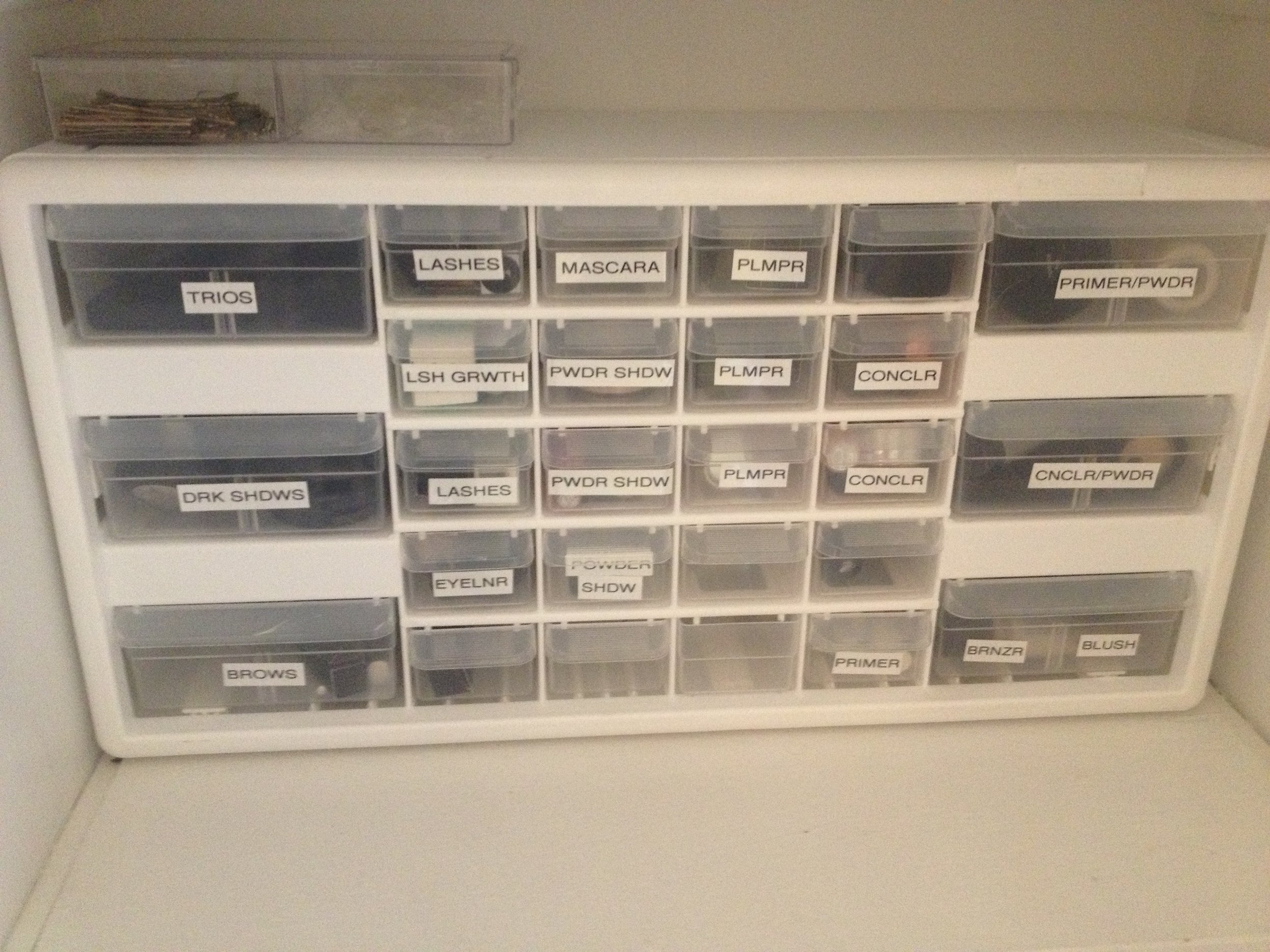 These organizer drawers are just a little too little...