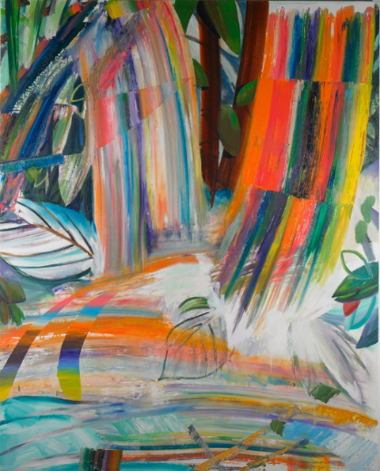"Spring Floods II , 2011, oil on canvas, 60.5"" x 48"""